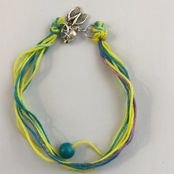 Wax Cotton Thread Bracelet with Magnetic Clasp
